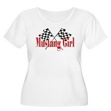 Mustang Girl T-Shirt