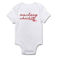 Mustang Chick Infant Bodysuit
