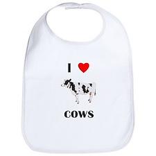 I love cows Bib