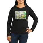 Garden Gate Women's Long Sleeve Dark T-Shirt