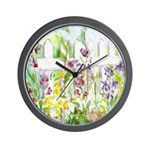 Garden Gate Wall Clock