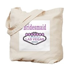 Lavender LV Bridesmaid Tote Bag