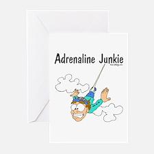 Adrenaline Junkie Greeting Cards (Pk of 10)