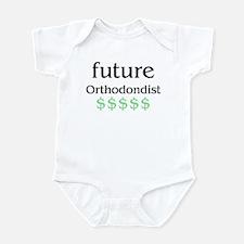 future orthodondist Infant Bodysuit