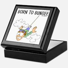 Born To Bungee Keepsake Box