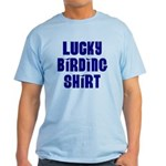 Lucky Birding Shirt (Royal Text) Light T-Shirt