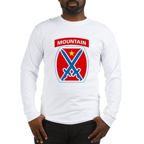 10th mountain long sleeve t shirt for Mountain long sleeve t shirts