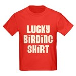 Lucky Birding Kids Dark T-Shirt
