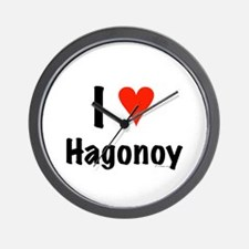 I love Hagonoy Wall Clock