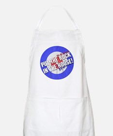 Rock In The House! Curling BBQ Apron