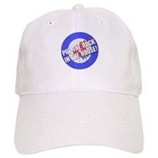 Rock In The House! Curling Baseball Cap