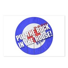 Rock In The House! Curling Postcards (Package of 8