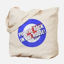 Rock In The House! Curling Tote Bag
