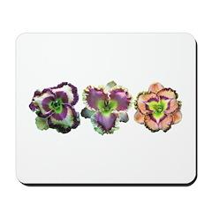 Lavender Daylilies Mousepad