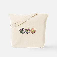Lavender Daylilies Tote Bag