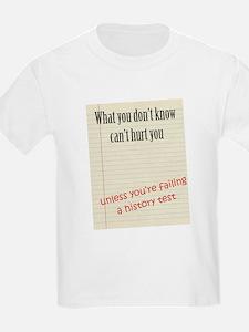 History Exam T-Shirt