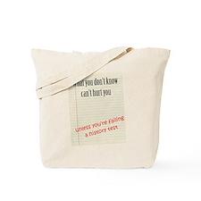 History Exam Tote Bag
