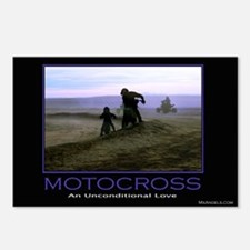 Postcards(Pkg of 8)Motocross an Unconditional Love