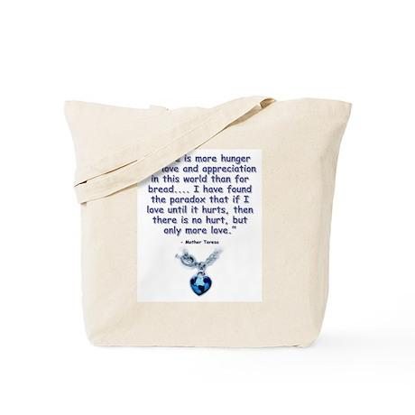 Mother Teresa Love Tote Bag