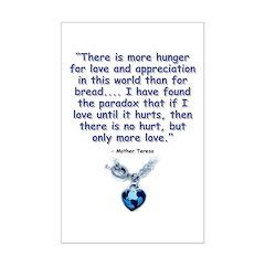 Mother Teresa Love Posters