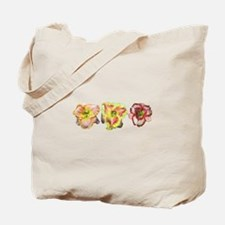 Pink Daylilies Tote Bag
