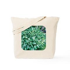 Variegated Hosta Tote Bag