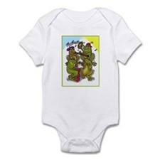 The Frog Quartet Infant Bodysuit