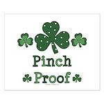 Pinch Proof Shamrock Small Poster