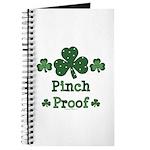 Pinch Proof Shamrock Journal