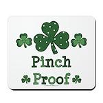 Pinch Proof Shamrock Mousepad