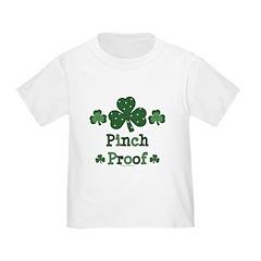 Pinch Proof Shamrock Toddler T-Shirt