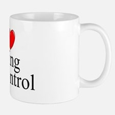 """I Love (Heart) Being In Control"" Mug"