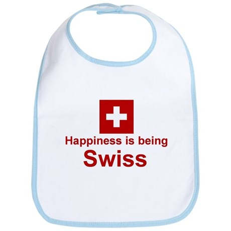 Happy Swiss Bib