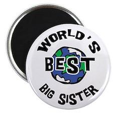 World's Best Big Sister Magnet