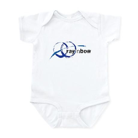 Ray 'n Bow Logo (Black) Infant Creeper