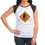 Birder at Work Women's Cap Sleeve T-Shirt