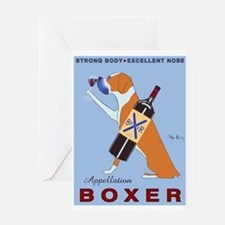 Appellation Boxer Greeting Card