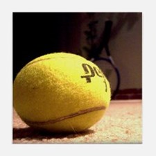 Cute Sports and recreation tennis Tile Coaster