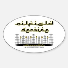 Saudi Oilfield Service Oval Decal
