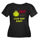 1924 Leap Year Baby Women's Plus Size Scoop Neck D
