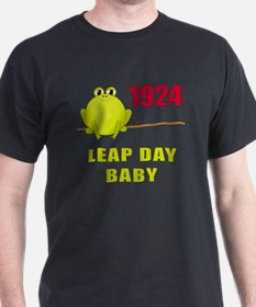 1924 Leap Year Baby T-Shirt