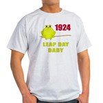 1924 Leap Year Baby Light T-Shirt