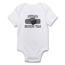 Louisiana Drinking Team Infant Bodysuit