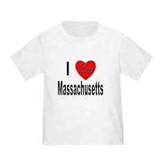I Love Massachusetts T