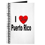I Love Puerto Rico Journal