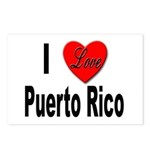 I Love Puerto Rico Postcards (Package of 8)