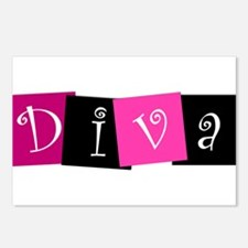 DIVA Design! Postcards (Package of 8)