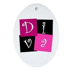 DIVA Design! Oval Ornament