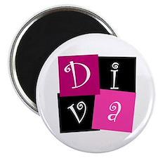 """DIVA Design! 2.25"""" Magnet (10 pack)"""