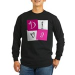 DIVA Design! Long Sleeve Dark T-Shirt